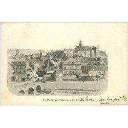 carte postale ancienne 03 MONTLUCON. Vieille Ville 1901