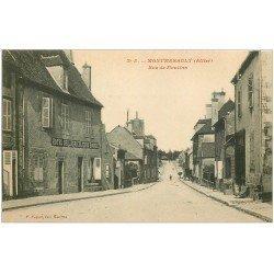 carte postale ancienne 03 MONTMARAULT. Rue de Moulins. Hôtel de l'Agriculture