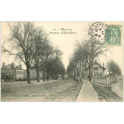 carte postale ancienne 03 MOULINS. Avenue d'Orvilliers 1907