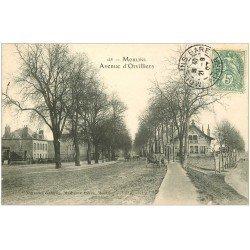 carte postale ancienne 03 MOULINS. Avenue d'Orvilliers 1907