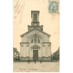 carte postale ancienne 77 MEAUX. Le Temple 1905