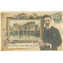carte postale ancienne 77 MEAUX. Fantaisie 1906