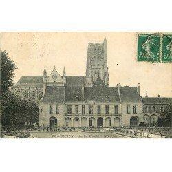 carte postale ancienne 77 MEAUX. Ancien Evêché 1911