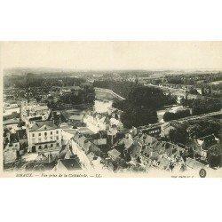 carte postale ancienne 77 MEAUX. Vue de la Cathédrale 1917