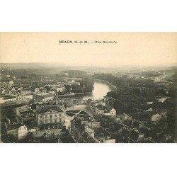 carte postale ancienne 77 MEAUX. Vue générale