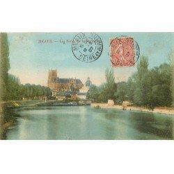 carte postale ancienne 77 MEAUX. Bords de la Marne 1907