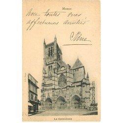 carte postale ancienne 77 MEAUX. Cathédrale 1901