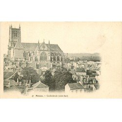 carte postale ancienne 77 MEAUX. Cathédrale côté Sud
