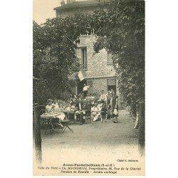 carte postale ancienne 77 AVON FONTAINEBLEAU. Pension de Famille Villa du Parc 36 rue de la Charité