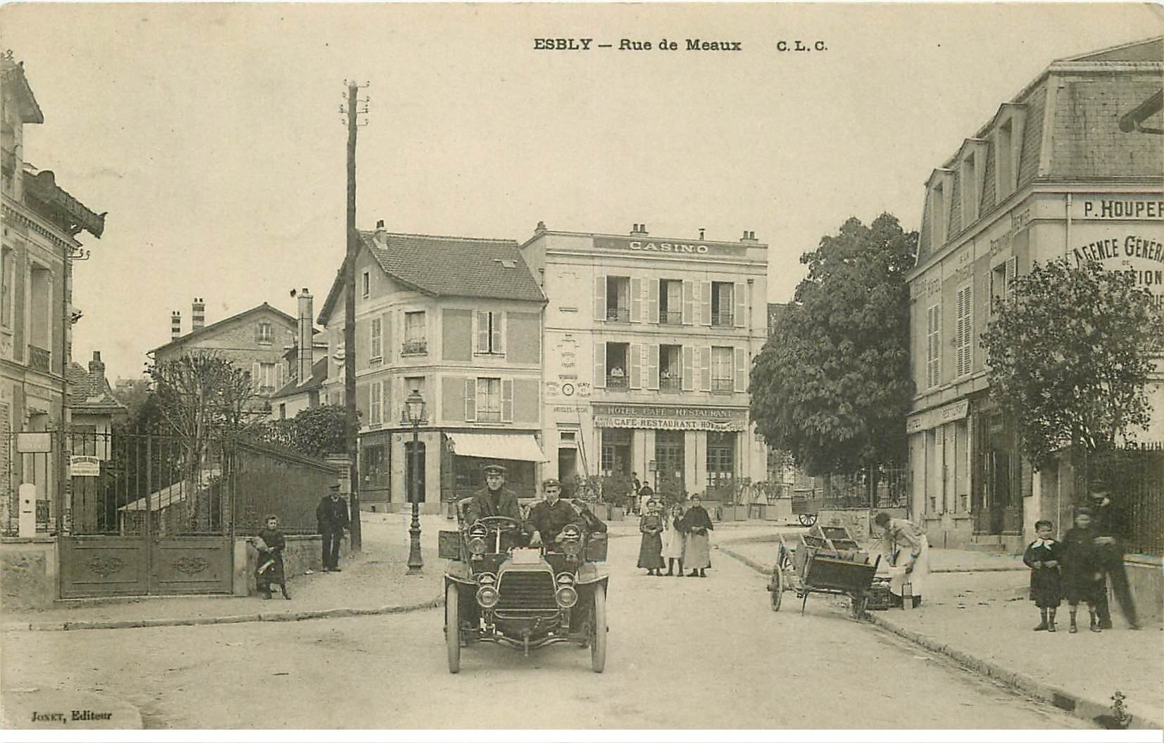 77 esbly superbe voiture ancienne rue de meaux et f lix for Garage rue de meaux vaujours