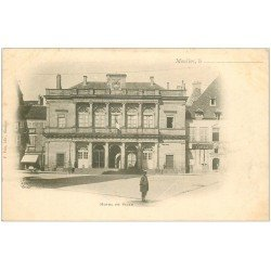 carte postale ancienne 03 MOULINS. Hôtel de Ville. Carte Pionnière
