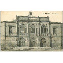 carte postale ancienne 03 MOULINS. Le Théâtre