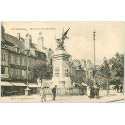 carte postale ancienne 03 MOULINS. Monument des Combattants