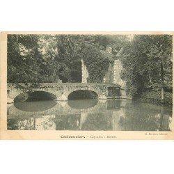 carte postale ancienne 77 COULOMMIERS. Les Capucins le Pont et Ruines