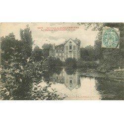 carte postale ancienne 77 COULOMMIERS. Château des Côteaux le Lac 1906
