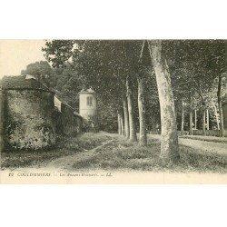 carte postale ancienne 77 COULOMMIERS. Les Anciens Remparts