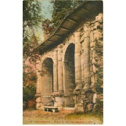 carte postale ancienne 77 COULOMMIERS. Ruines Parc des Capucins
