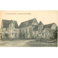 carte postale ancienne 77 COULOMMIERS. Ferme de l'Hôpital 1905