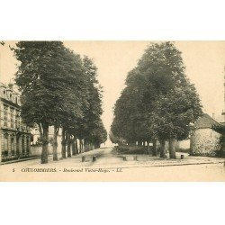 carte postale ancienne 77 COULOMMIERS. Boulevard Victor-Hugo