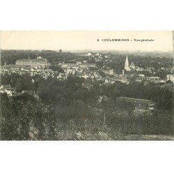 carte postale ancienne 77 COULOMMIERS. Vue générale