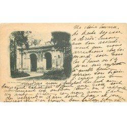 carte postale ancienne 77 COULOMMIERS. 1900 Ruines du Vieux Château timbre 10 centimes 1900