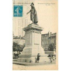 carte postale ancienne 77 COULOMMIERS. Monument Général Desaix 1926