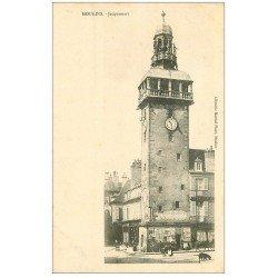carte postale ancienne 03 MOULINS. Tour Jacquemart. Edition Martial librairie
