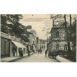 carte postale ancienne 03 NERIS-LES-BAINS. Avenue Boisrot-Desserviers 1925
