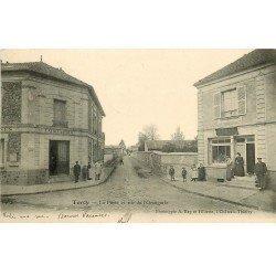 77 torcy la poste rue de l 39 orangerie et tabac 1904 avec facteur. Black Bedroom Furniture Sets. Home Design Ideas