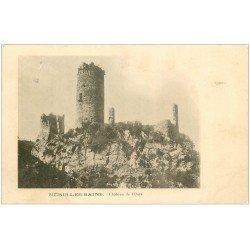 carte postale ancienne 03 NERIS-LES-BAINS. Château de l'Ours 1905