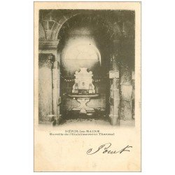 carte postale ancienne 03 NERIS-LES-BAINS. Etablissement Thermal Buvette 1903