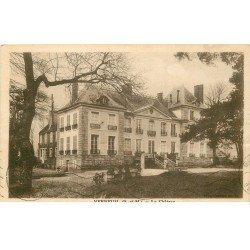 carte postale ancienne 77 VERNEUIL. Le Château 1935