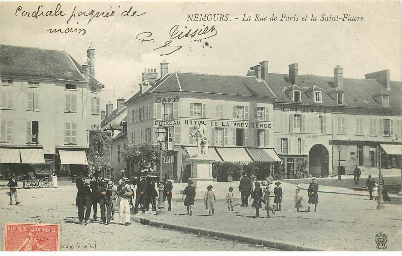 77 Nemours  Cort U00e8ge Musical Rue De Paris Et La Saint