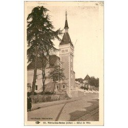 carte postale ancienne 03 NERIS-LES-BAINS. Hôtel de Ville 1922