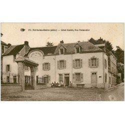 carte postale ancienne 03 NERIS-LES-BAINS. Hôtel Desriot Rue Parmentier