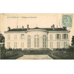 carte postale ancienne 77 MONTEREAU. Château de Surville vers 1908