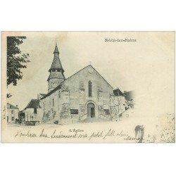 carte postale ancienne 03 NERIS-LES-BAINS. L'Eglise 1901