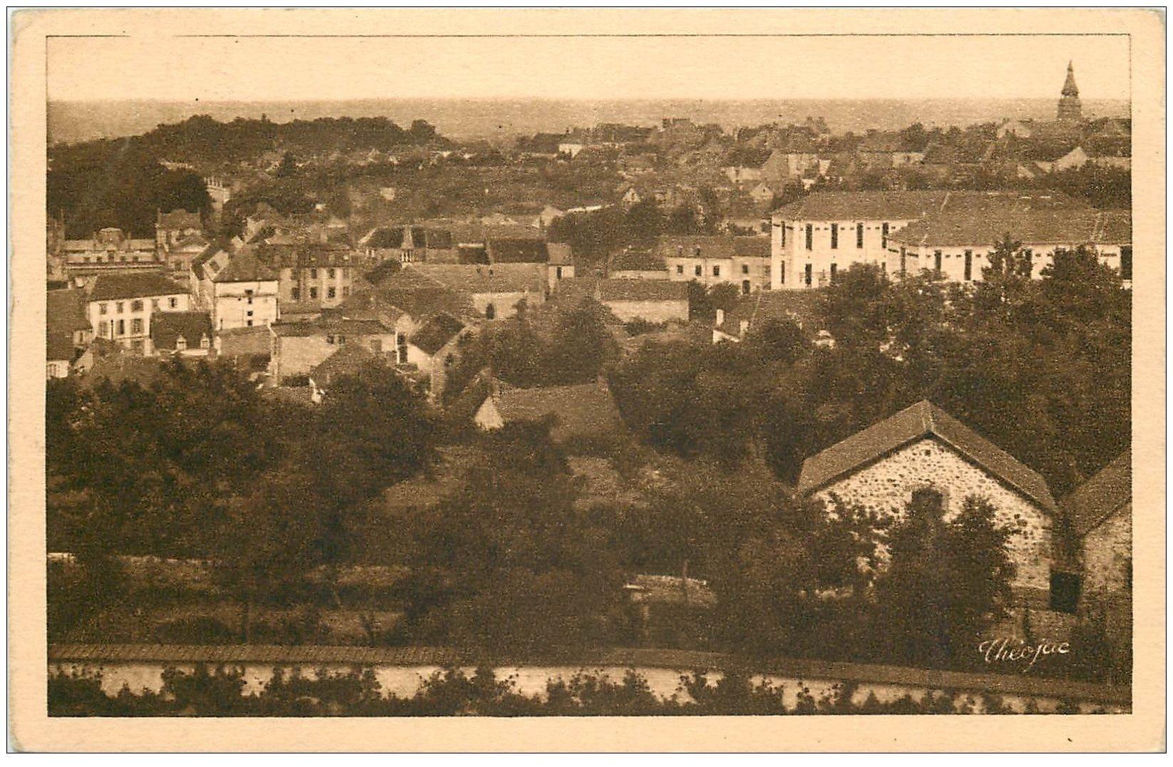 carte postale ancienne 03 NERIS-LES-BAINS. Nouvel Hôpital 1947