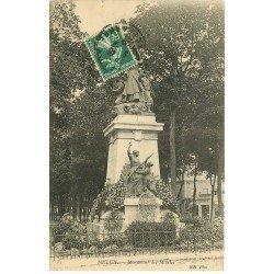 carte postale ancienne 77 MELUN. Monument des Mobiles 1909