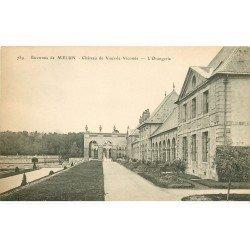 carte postale ancienne 77 MELUN. Château Vaux-le-Vicomte Orangerie