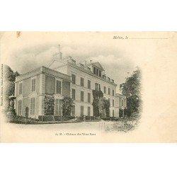 carte postale ancienne 77 MELUN. Château des Vives Eaux