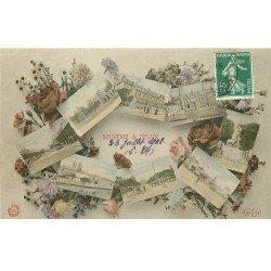 carte postale ancienne 77 MELUN. Souvenir 1908