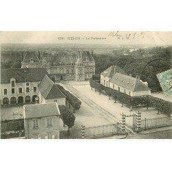 carte postale ancienne 77 MELUN. La Préfecture 1904