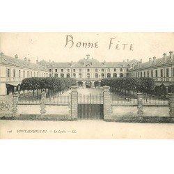 carte postale ancienne 77 FONTAINEBLEAU. Le Lycée 1905