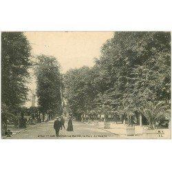 carte postale ancienne 03 NERIS-LES-BAINS. Parc du Casino 1916