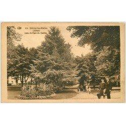carte postale ancienne 03 NERIS-LES-BAINS. Parc du Casino 1931