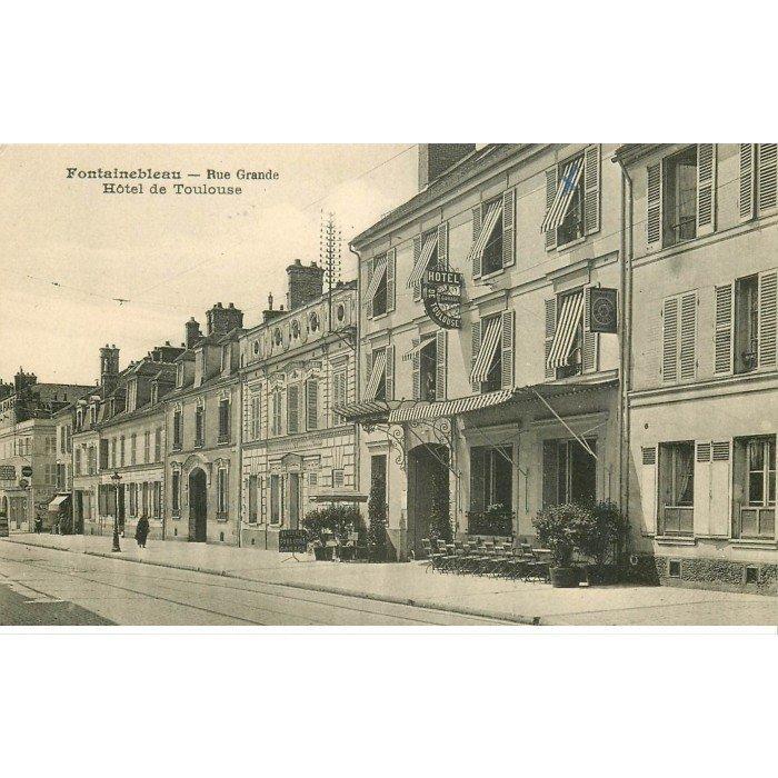 77 Fontainebleau  H U00f4tel De Toulouse Rue Grande