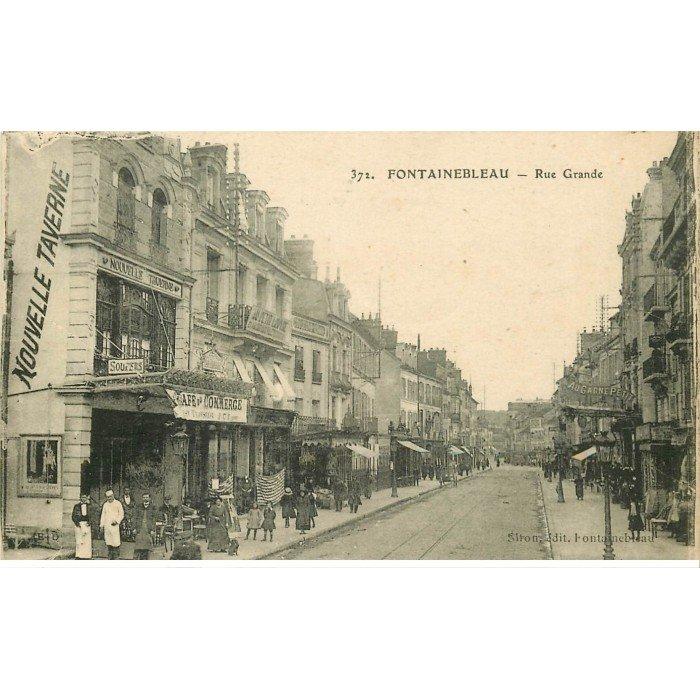 77 fontainebleau grande rue caf du commerce - Frais de port offert rue du commerce ...