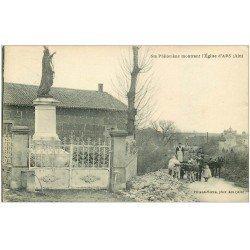 carte postale ancienne 01 Ars. Sainte-Philomène montrant l'Eglise 1926