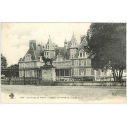 carte postale ancienne 03 RANDAN. Le Château. M.T.I.L